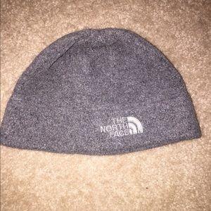 North face fleece hat. Gray color. Very warm. Sz M